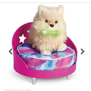 American Girl galaxy pet bed